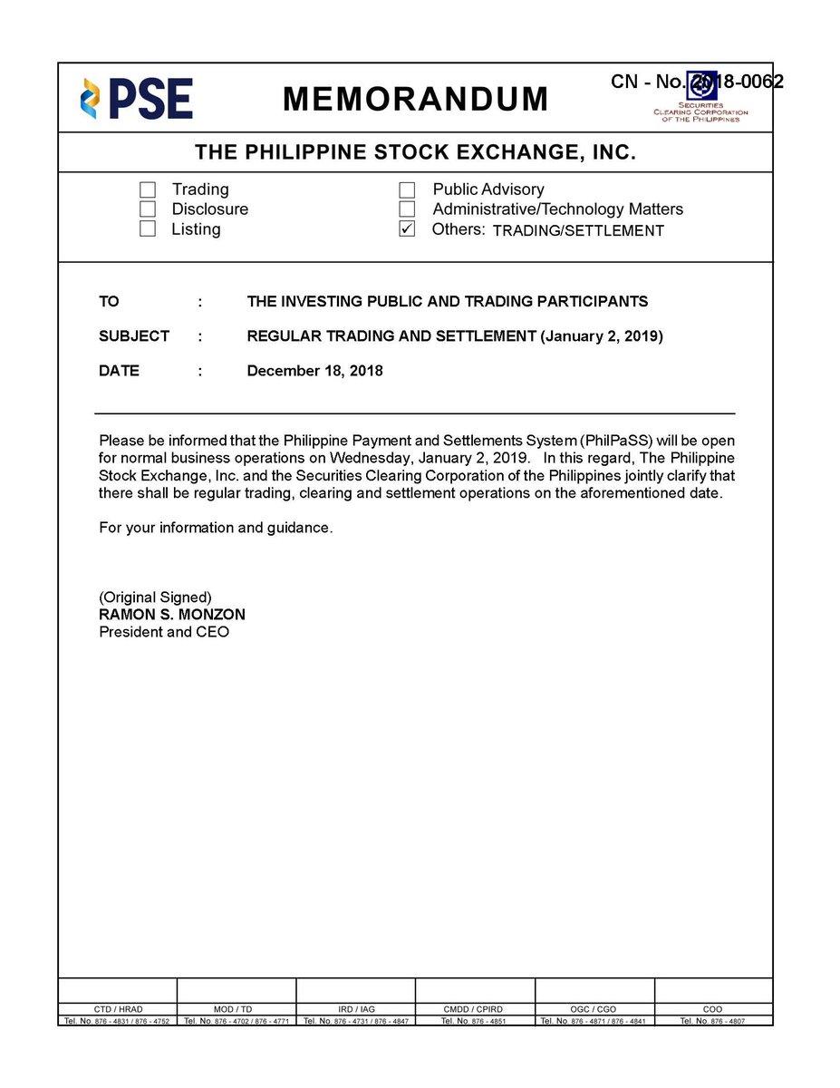 Phil Stock Exchange Phstockexchange Twitter