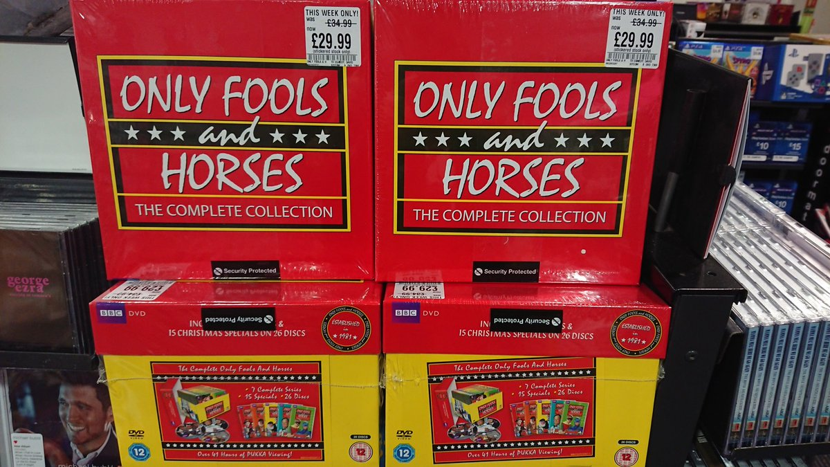 Hmv York On Twitter Box Set Of The Week This Week Is The Outstanding Only Fools And Horses Pick It Up Instore For 29 99 On Dvd