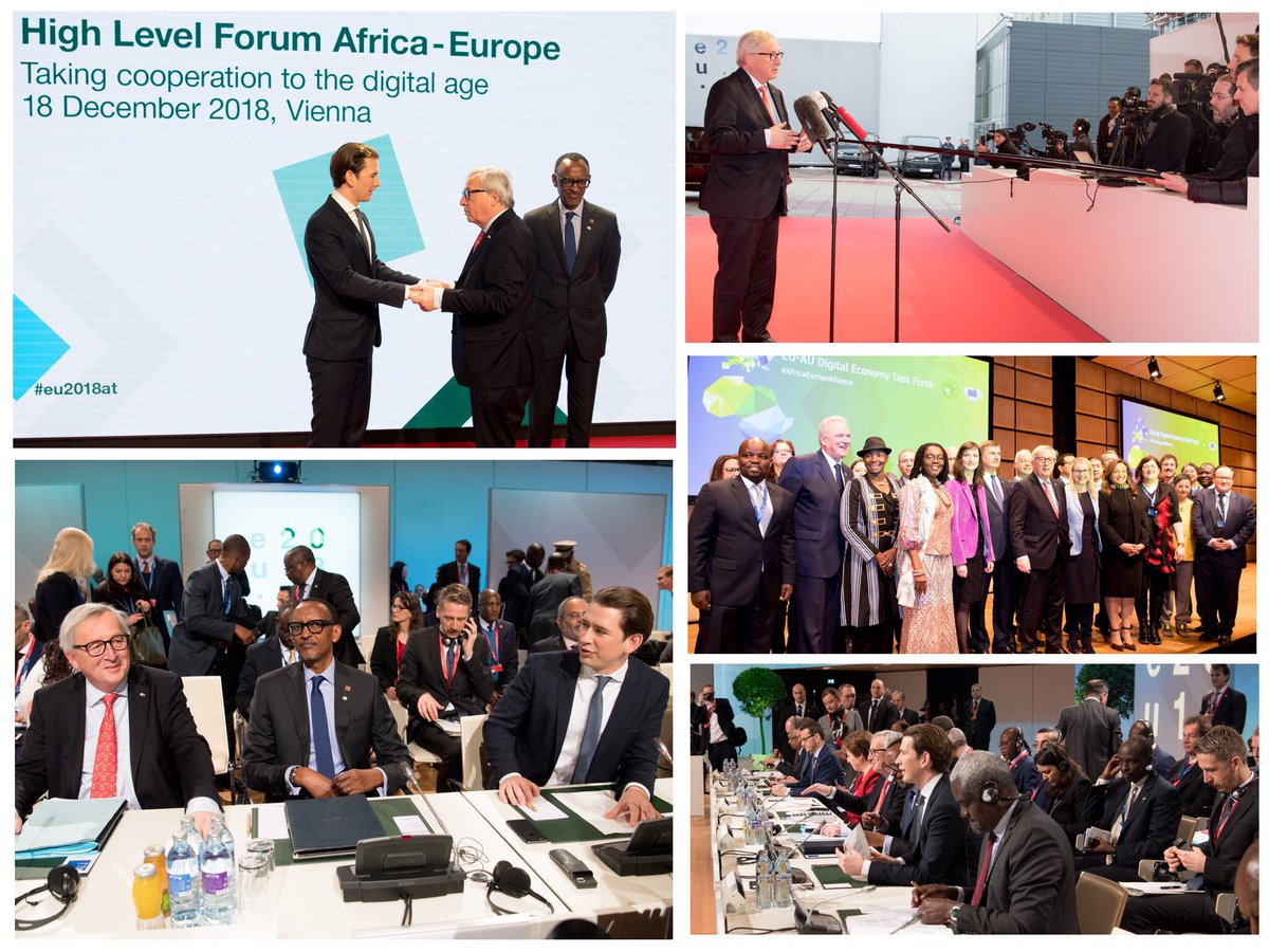 High-level Forum Africa-Europe: ''Taking Cooperation to the Digital Age''