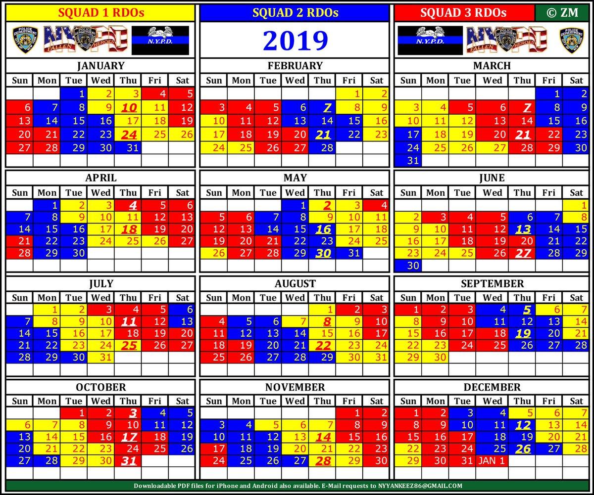 Photos of Rdo Calendar 2021 Nypd