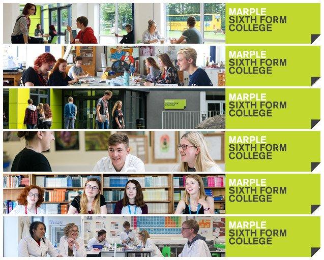 Marple College Banners