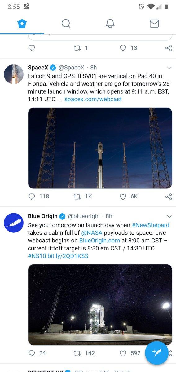 blue origin live