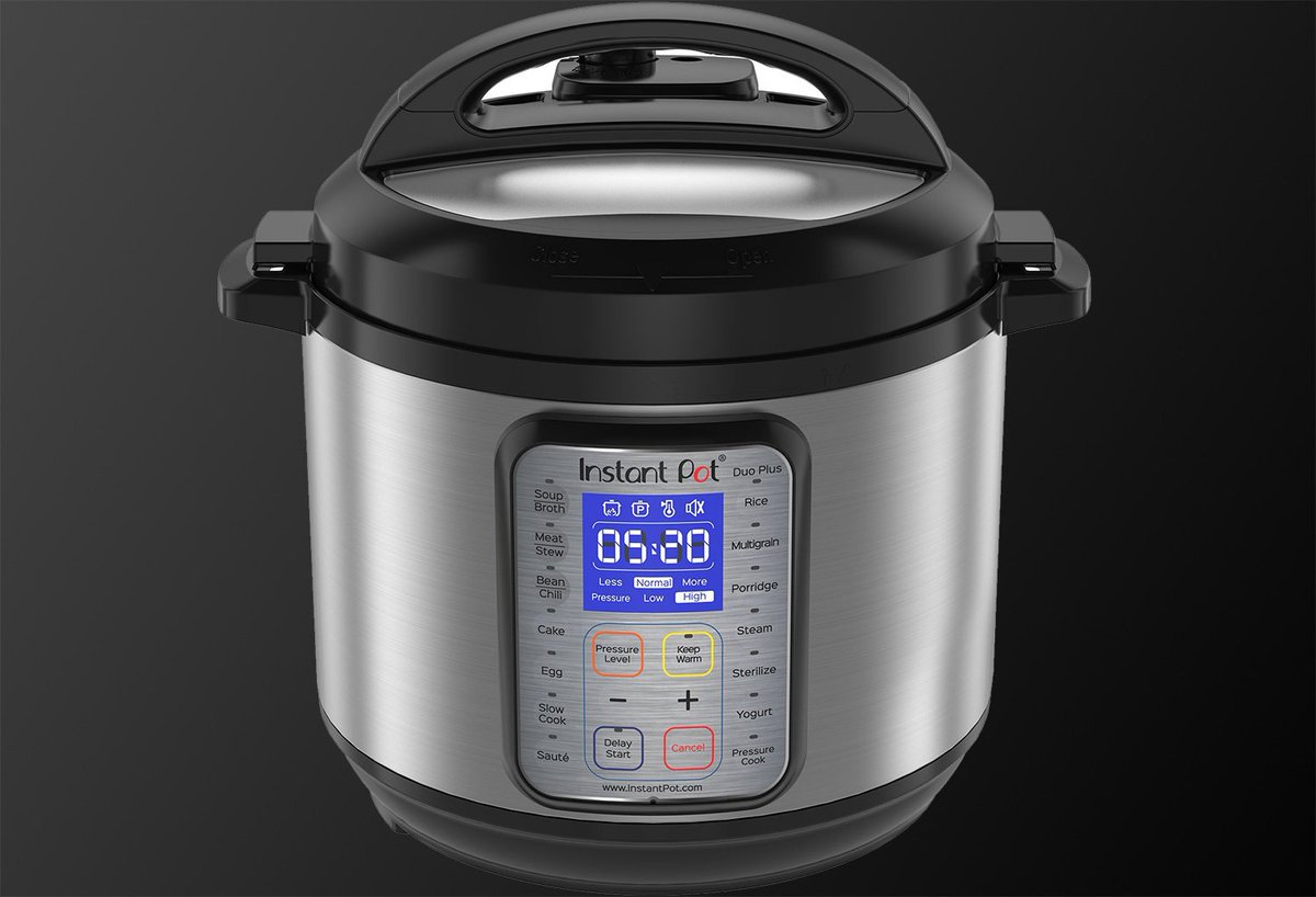 The Instant Pot Duo Plus on on sale at its lowest price ever for one day only https://t.co/nQHbrHILKt