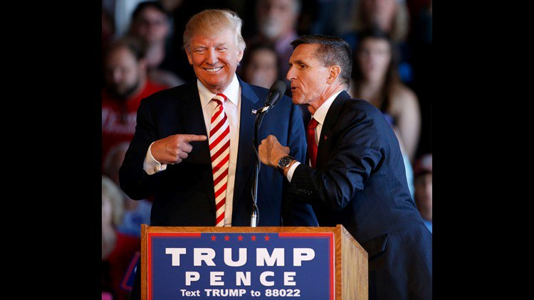 President Trump says 'good luck' to Michael Flynn on day of sentencing https://t.co/l48Nq94cPP