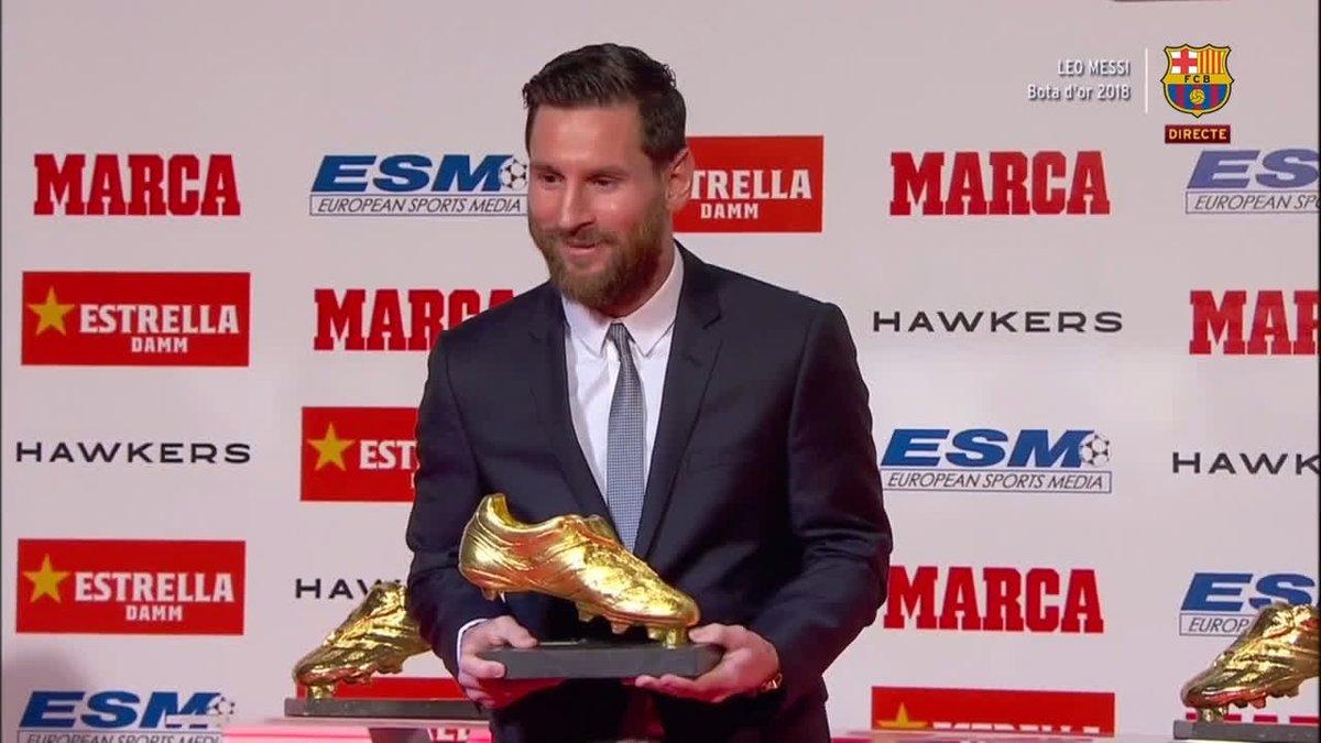 🔥 Leo #Messi 🔥 🏆👟 #BotadeOro