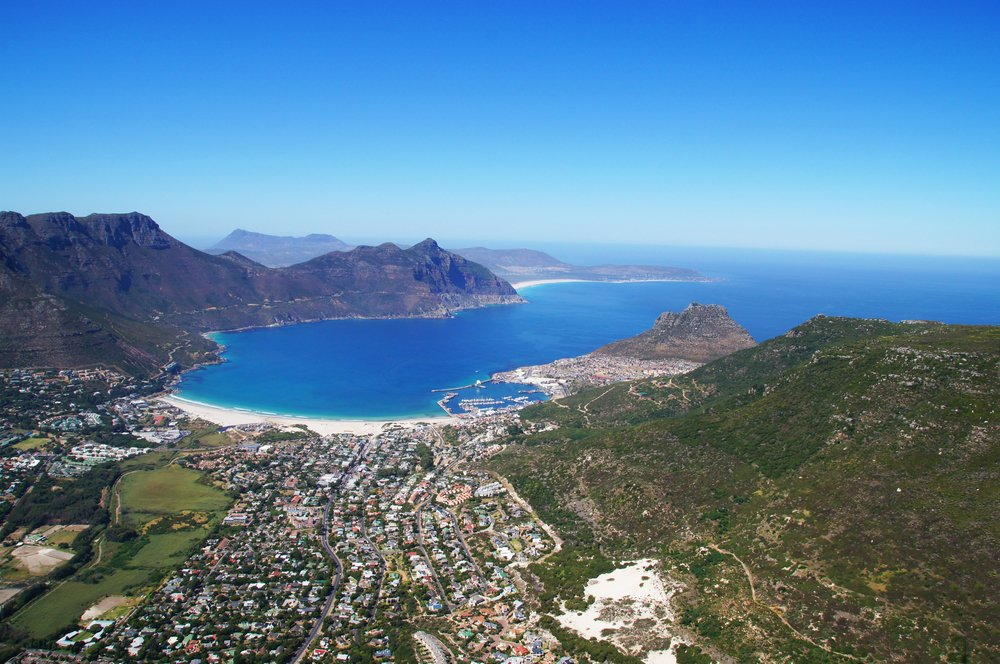 A beautiful view of #HoutBay from above... One of the many epic destinations on offer in #CapeTown. Photo: Soysam #MeetSouthAfrica #TravelTuesday