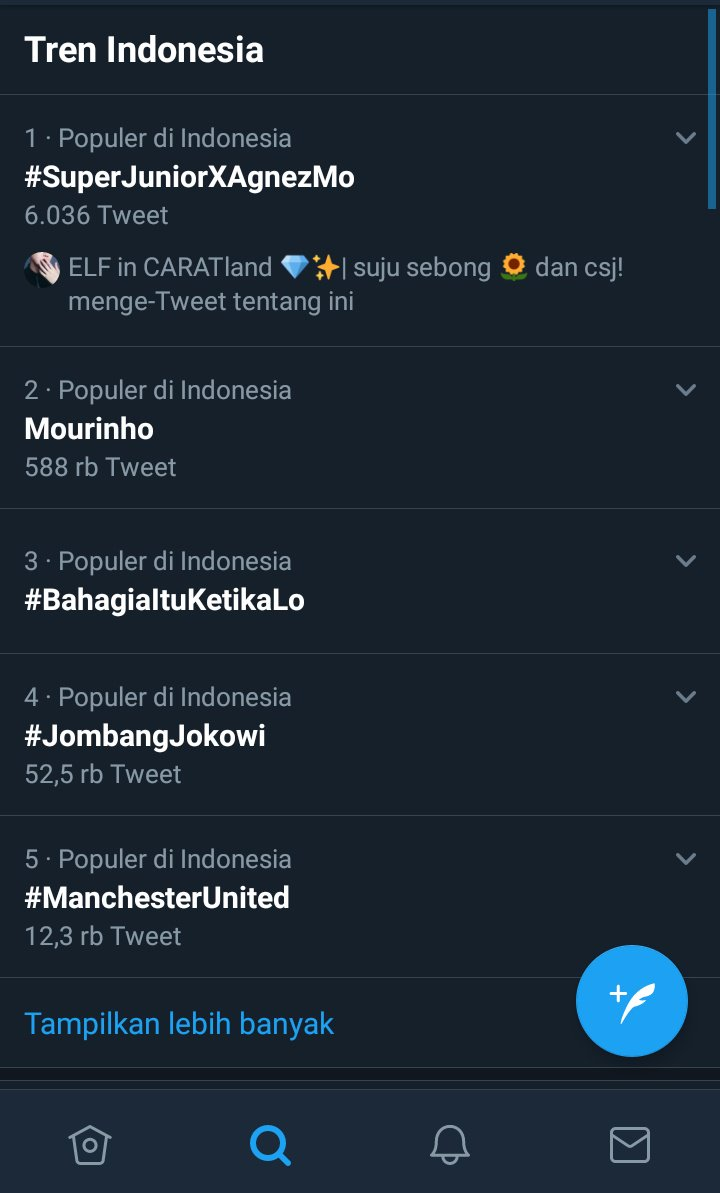 Wohoo! #SUPERJUNIORxAGNEZMO on number 1 Trending Topic Indonesia! Good job Indonesian ELF &amp; Agnation ! Let&#39;s make it happen! <br>http://pic.twitter.com/hHVMyqDLo5