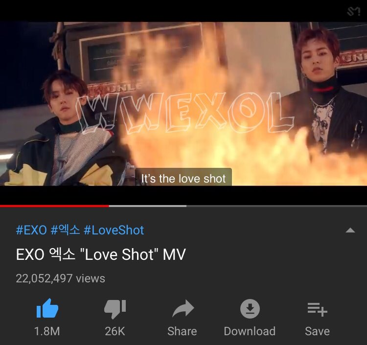 download video exo love shot mv