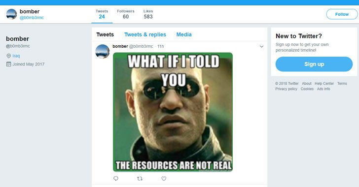 New Malware Takes Commands From Memes Posted On Twitter  https://t.co/j4CSvE9HNf  Another example of disguising malware activities as regular traffic by using legitimate cloud-based services.