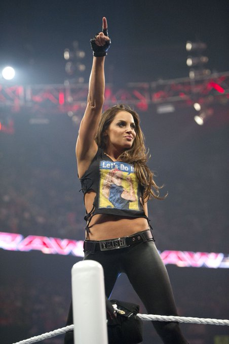 Happy Birthday to WWE Hall of Famer and 7-time Women\s Champion, Trish Stratus!