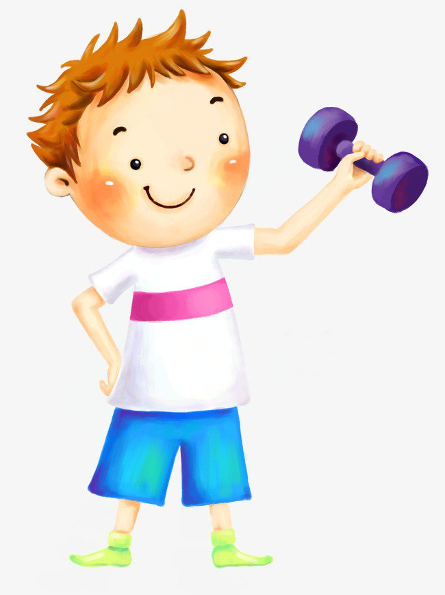 Картинки спортсмен для детей нарисованные