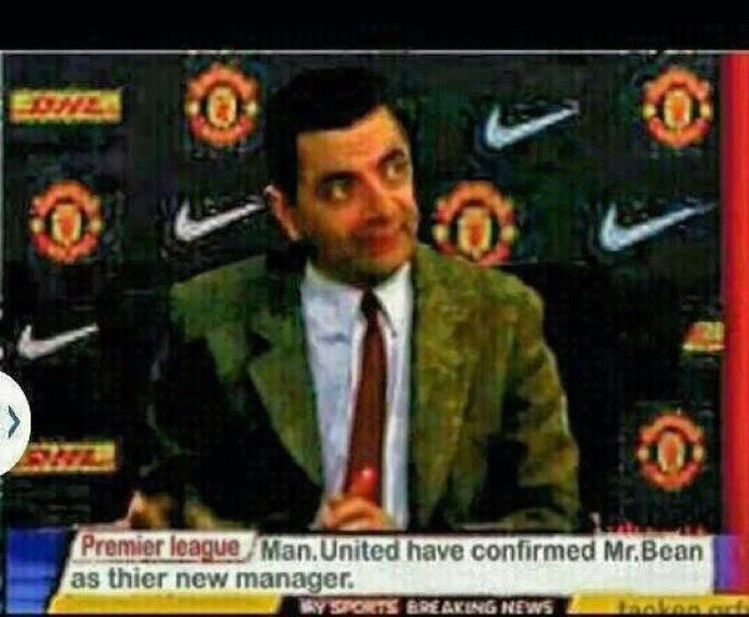BREAKING NEWS: Man United have announced their new manager.