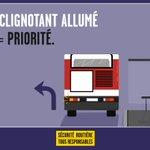 Image for the Tweet beginning: En ville, les bus sont