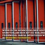 Image for the Tweet beginning: Wenn es 🔥, sind 👩🚒👨🚒die