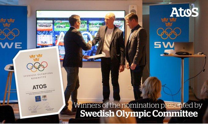 """We are happy to win #SwedishOlympicCommittee nomination """"Årets företag på SOK:s Träningskl..."""