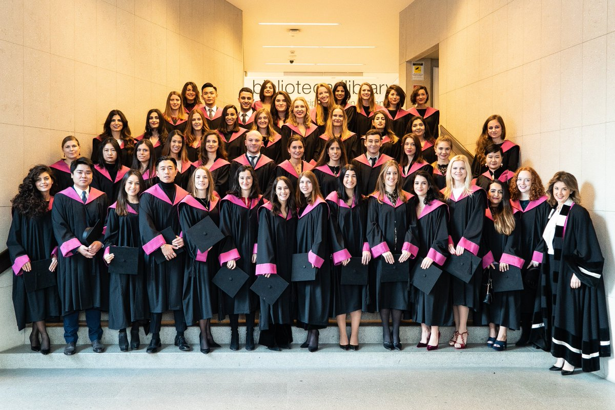 Sda Bocconi On Twitter Mafed 17 Graduation Ceremony The Master In Fashion Experience Design Management Mafed Is An Intensive 1 Year Full Time Program That Is Taught Entirely In English And Attracts Students