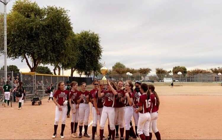 Congrats to  the 8th grade girls&#39; softball team for their convincing victory overSantanJH, to win the East Valley Conference girls&#39; softball championships.The girls had a wonderful season &amp; we are very proud of them &amp; their accomplishments. #excellencethroughleadership  @qcusd<br>http://pic.twitter.com/uNisngrSdM