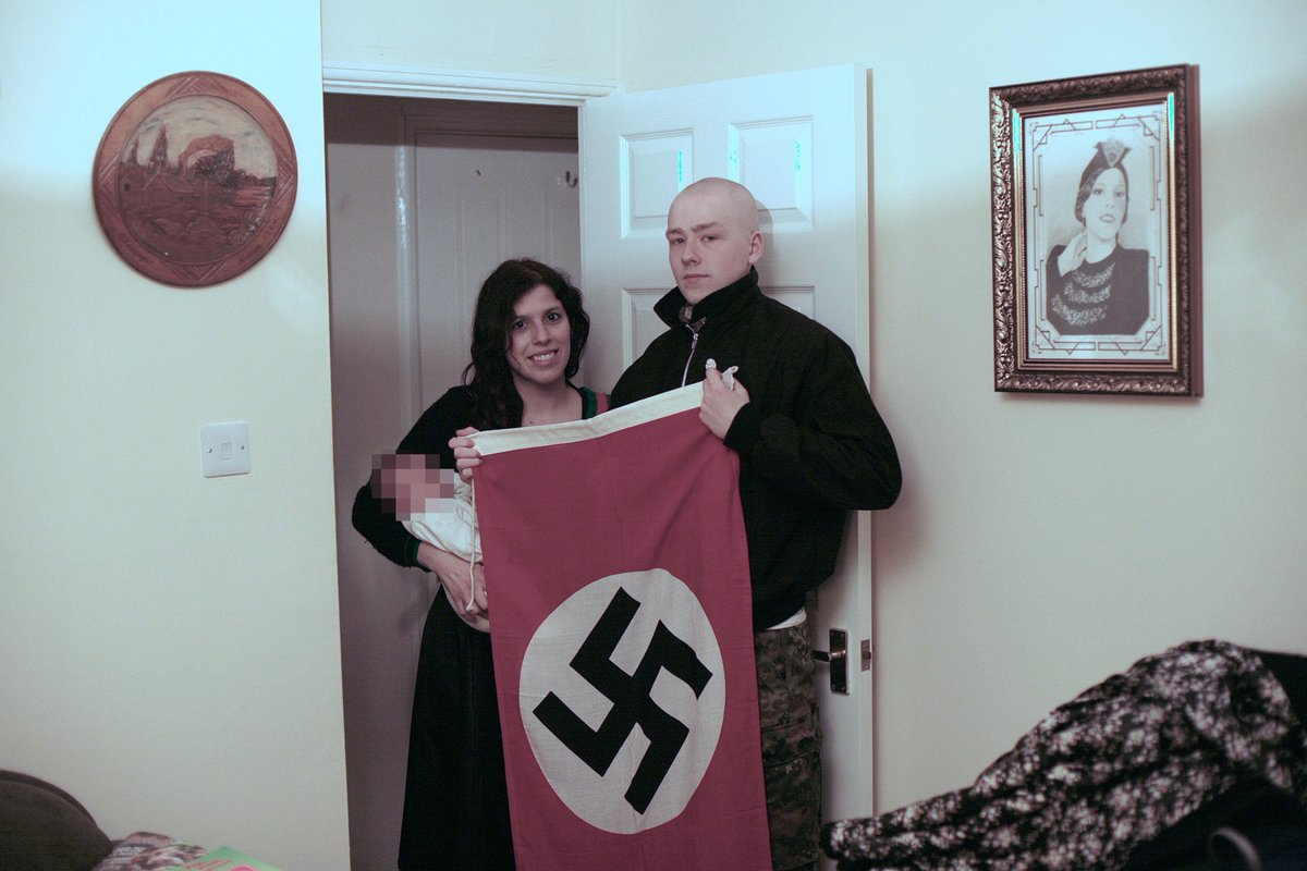 #Breaking Fanatical neo-Nazi couple Adam Thomas and Claudia Patatas, who named their baby son after Hitler, have been sentenced at Birmingham Crown Court to six and a half years and five years in prison respectively, for membership of a terrorist group