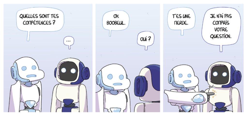 18/24 Quand Roger rencontre Boobeul 🤖🤖