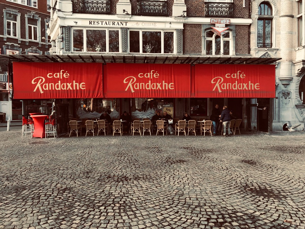 H Baron V Feldhoff على تويتر Café Randaxhe Liège Outremeuse
