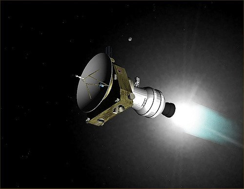 TODAY-- Just two weeks to Thule now!   And in less than an hour, @NASANewHorizons will be making what we hope is our last course correction maneuver. Go New Horizons!