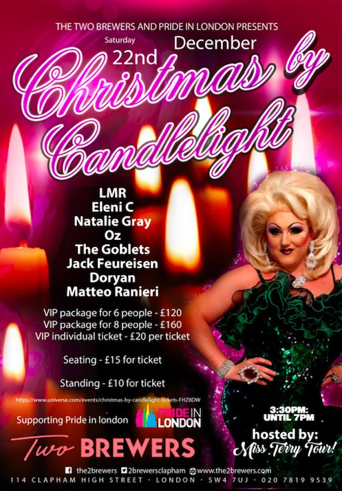 Celebrate Christmas with your friends before you head to see the family. 🗓 This Saturday 📍 @2BrewersClapham ⏰ 3:30pm - 7:00pm 🎟 bit.ly/2AVwNPt