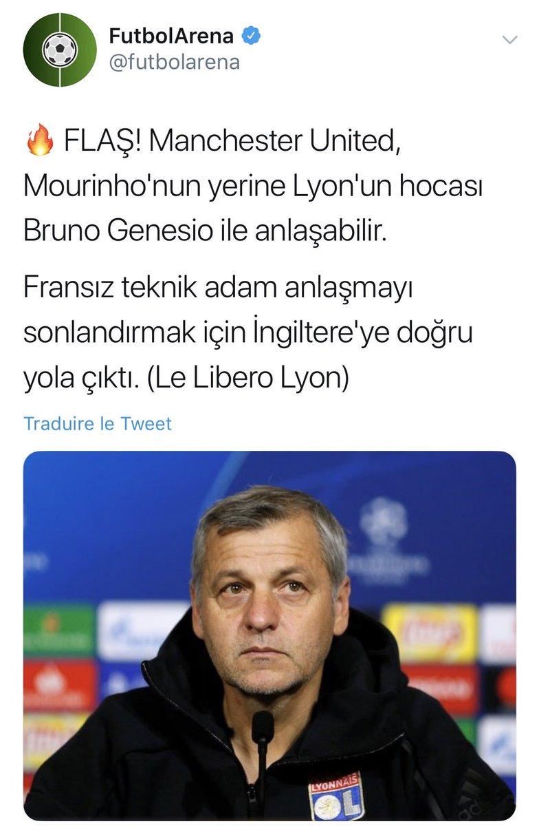 Quand un média turc envoie Bruno Genesio à Manchester United.. 😅