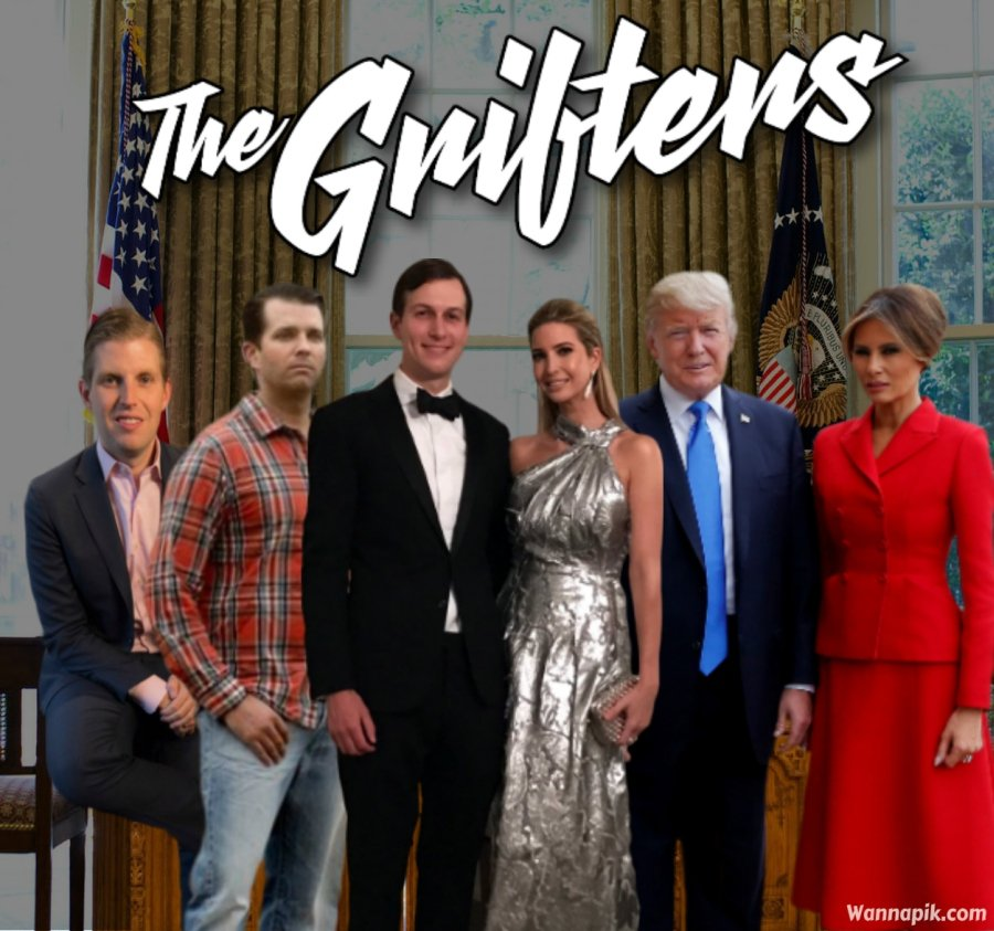 Image result for trump grifters
