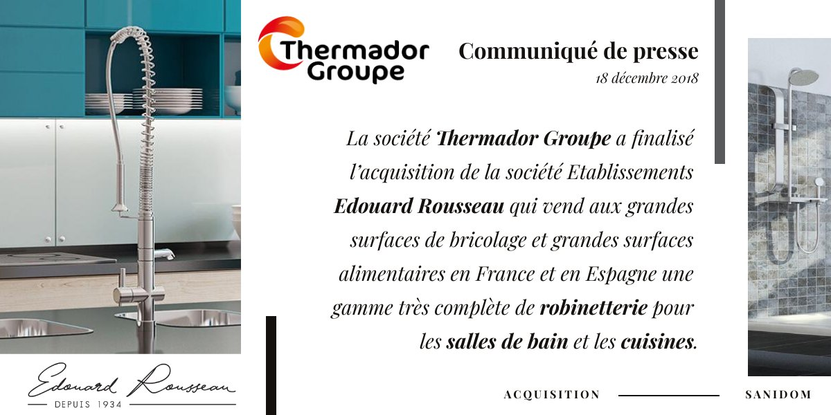 Thermador Groupe On Twitter Actualite Thermadorgroupe Finalise