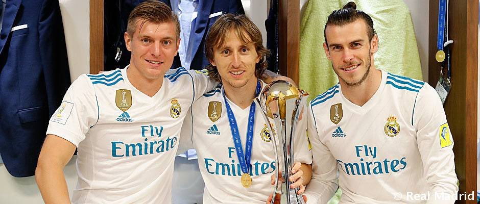 20 of the 25 players in the Real Madrid squad have already won the Club World Cup and have 47 titles between them. #HalaMadrid