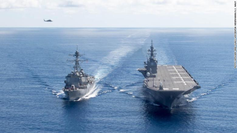 Japan is poised to put its first aircraft carriers to sea since World War II, refitting its Izumo-class warships to carry US-designed F-35B fighter jets, the government says https://t.co/EdOPJ1texg