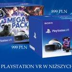 Image for the Tweet beginning: Zestawy PlayStation VR w wyjątkowo