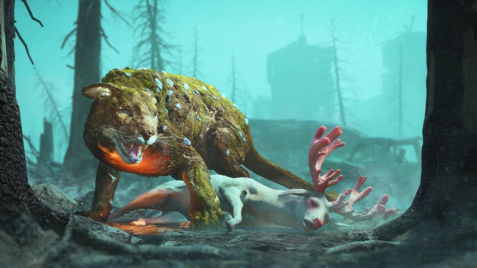 Watch your back- the fierce natural predators of Hope County are even bigger and badder in Far Cry: New Dawn!