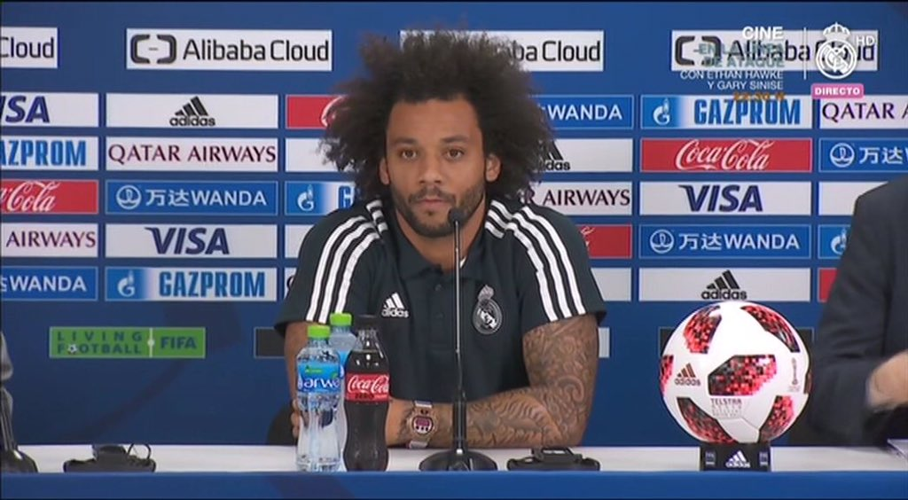 """Marcelo: """"The credit for this team is unity in the dressing room."""""""