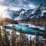 Image for the Tweet beginning: Winter magic in the Rockies.✨  Photo