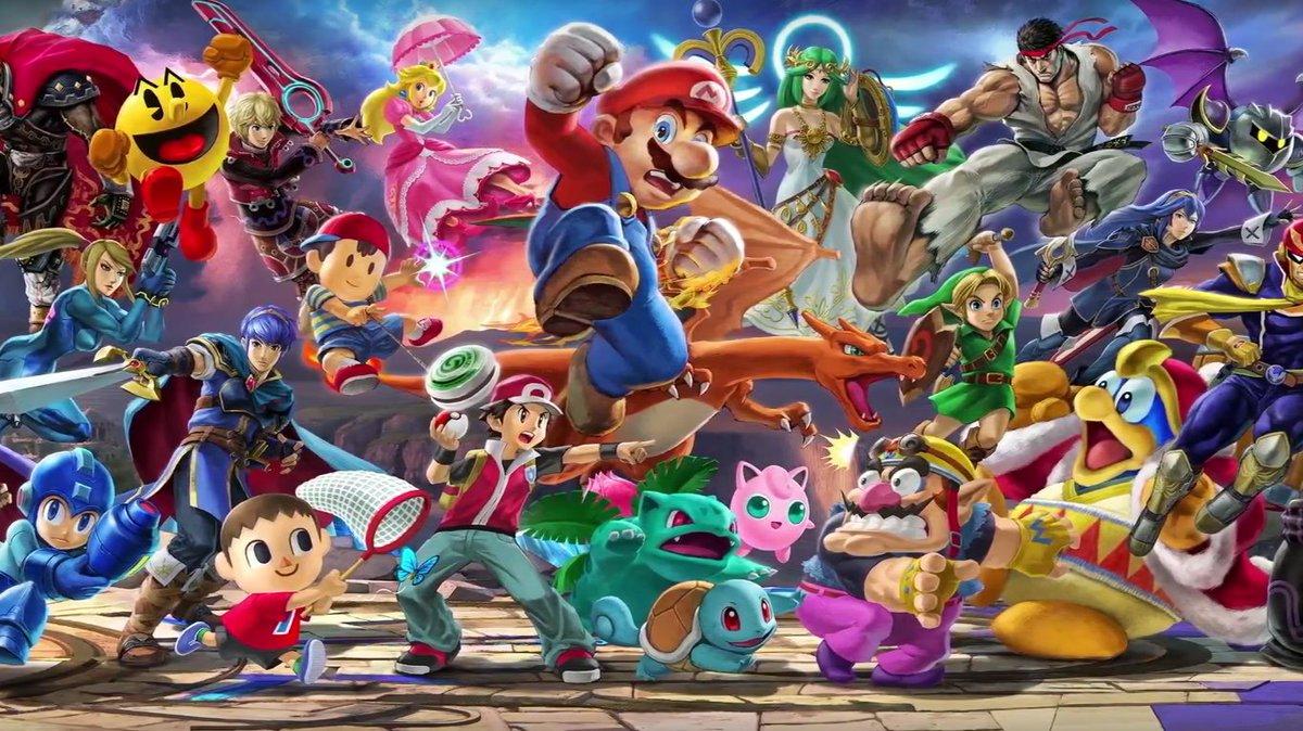 Kleurplaten Super Mario Bros Wii.Super Smash Bros Characters Games Baaz