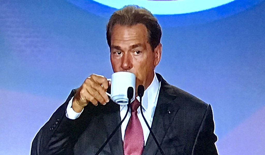 Alabama has been ranked #1 for 15 weeks straight this season. Auburn has been ranked #1 for 9 weeks in their entire 126 year history of playing football mmm this tea tho <br>http://pic.twitter.com/zNRB12V3cd