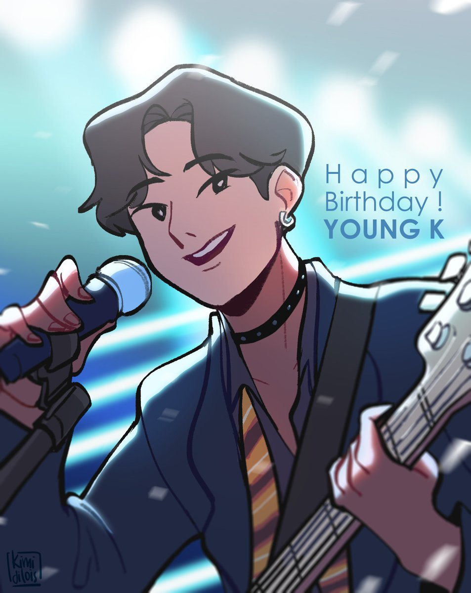 Happy Birthday YOUNG K !! . Another amazing birthday project with @dfi_official ! #DAY6 #데이식스 #YoungK #HappyYoungKDay #DFIProject