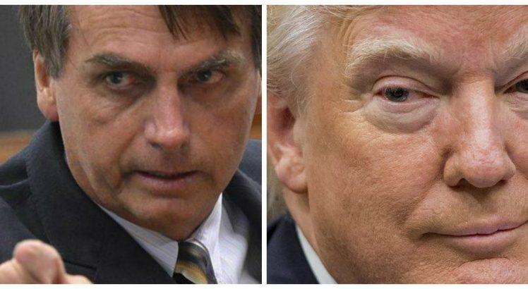Trump não irá a posse de Bolsonaro; Casa Branca envia representante
