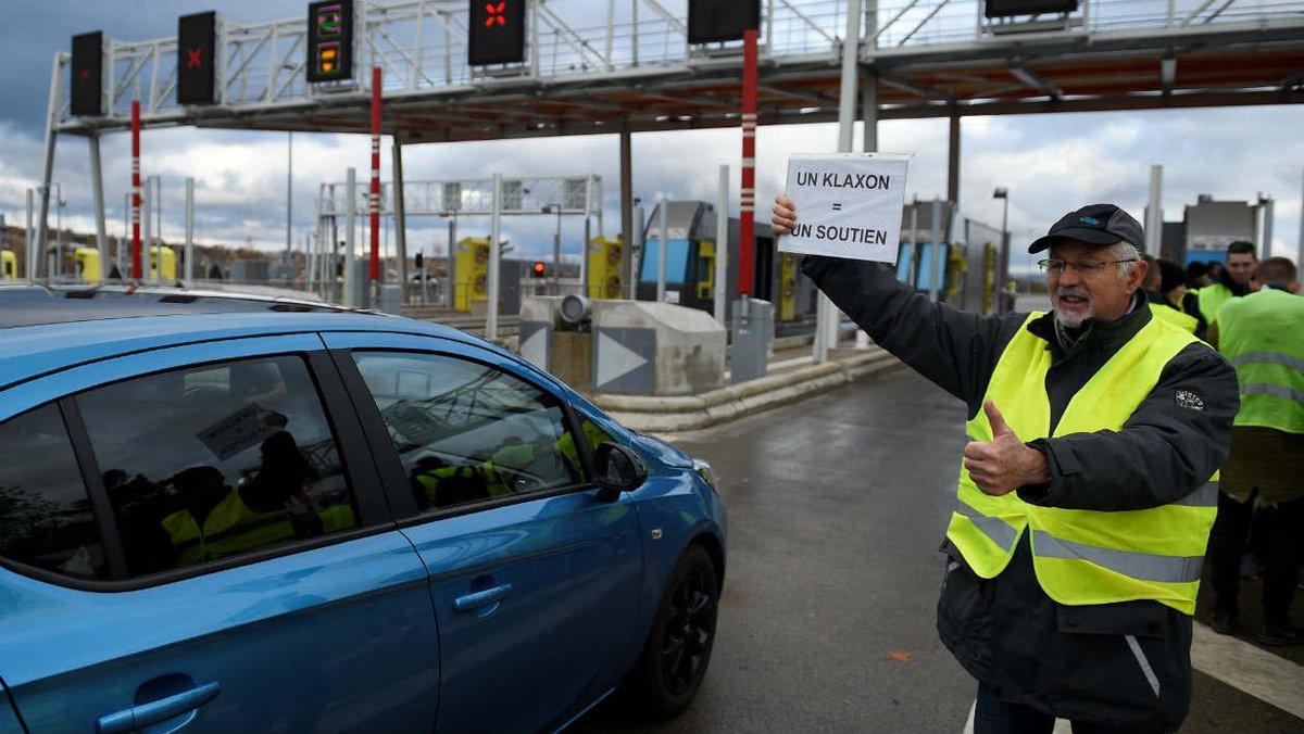 Gilets jaunes: que risquent les automobilistes passés sans payer au péage? https://t.co/8w2LOMpBuj
