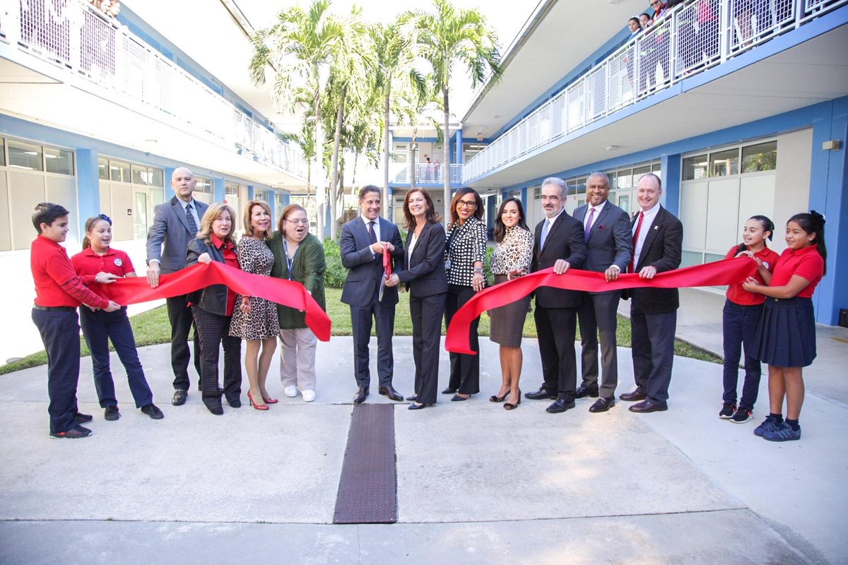 Miami Dade Schools On Twitter An Investment Of 62m At Rockwayelem