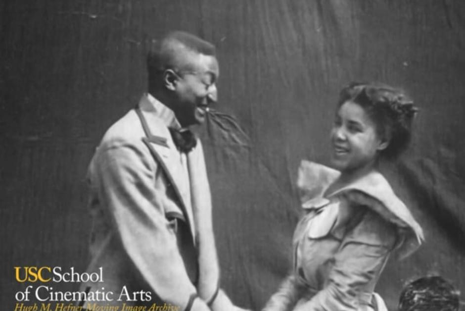 [Vidéo] 📽1898, le premier baiser noir de l'histoire du cinéma #HistoireDuCinéma  #Cinéma https://t.co/P0FX3mQmBp