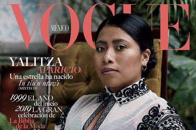 Yalitza Aparicio Is On The Cover Of Vogue Mexico And People Are Obsessed Because It's About Time https://t.co/QDHI65jWhq