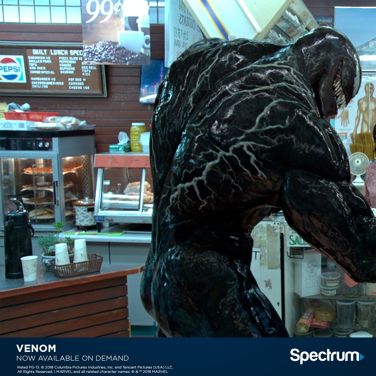 Something new has invaded—catch #ThePredator and #Venom, now available On Demand. @Predator @VenomMovie
