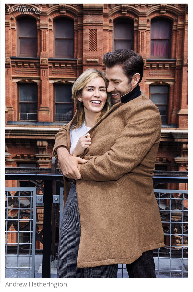 """""""I didn't want it to be like, 'Oh, how adorable. They're working together,'"""" Blunt says, of A Quiet Place. """"The narrative of our marriage was not going to overwhelm this movie and this amazing opportunity for him."""""""