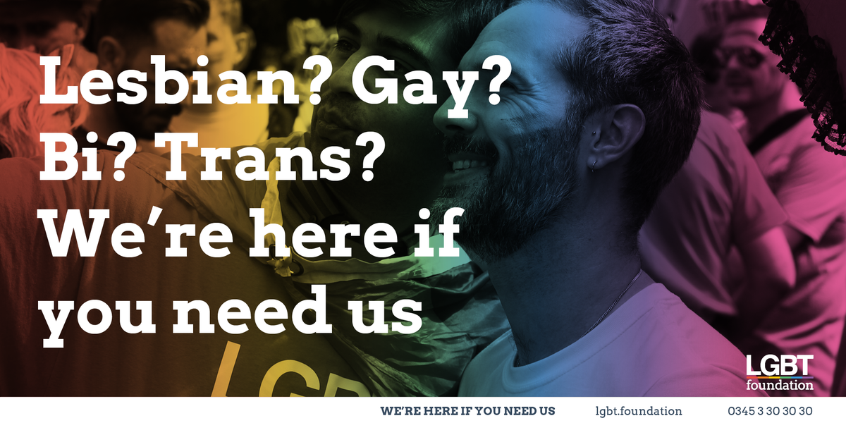 Our helpline will be open throughout the festive period for those who want support. Your donations ensure that we can continue to be here for #LGBT people who need us. Click here to support us --> bit.ly/2BCWWnI #charitytuesday