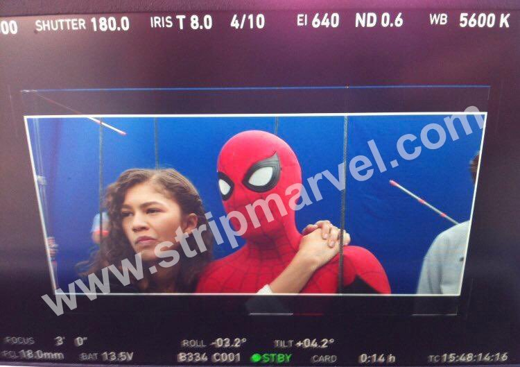 NEW PICS OF SPIDER MAN FAR FROM HOME BEHIND THE SCENES