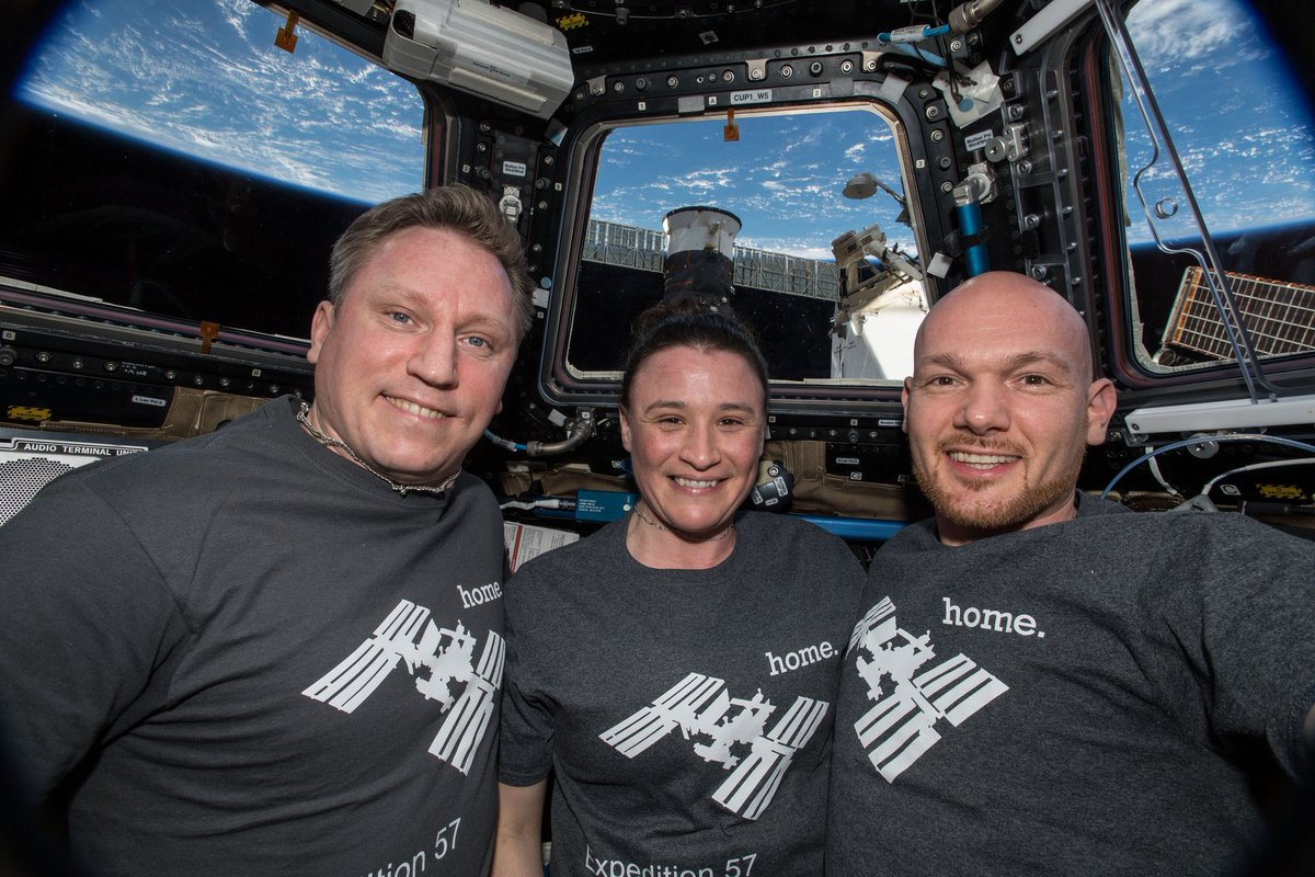 Three space station residents are scheduled to wrap up their 197-day stay aboard the orbital lab Wednesday live on @NASA TV. https://t.co/tNpOUUuWOv