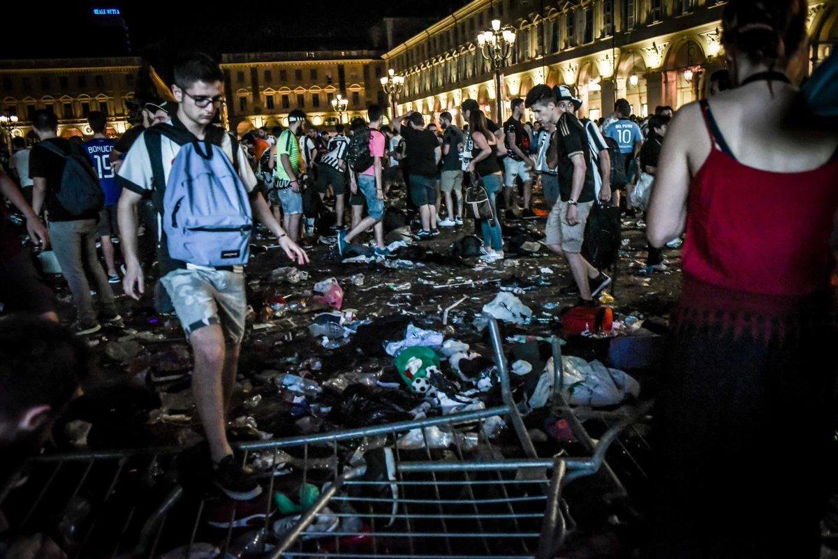 I disordini in Piazza san Carlo a Torino, chiesto il giudizio per la banda dello spray https://t.co/JaaTSjiTlC