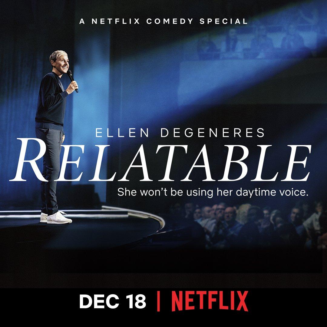 Here we go! My Netflix special is live! @NetflixIsAJoke